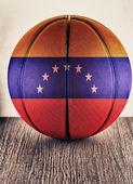 Venezuela basketball — Stock Photo