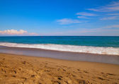 Sea from the beach — Stock Photo