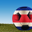 Costa Rica football — Stock Photo