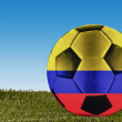 Colombia football — Stock Photo