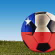 Chile football — Stock Photo