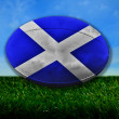Scotland Rugby — Stock Photo