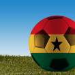 Ghana football — Stock Photo