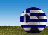 Greece football — Stock Photo