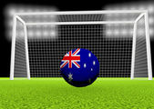 Soccer Australia — Stock Photo