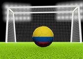 Soccer Colombia — Stock Photo