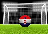 Soccer Croatia — Stock Photo