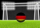 Fútbol alemania — Foto de Stock