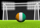 Soccer Ivory Coast — Stock Photo
