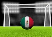 Soccer Mexico — Stock Photo