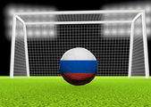Futebol na Rússia — Fotografia Stock