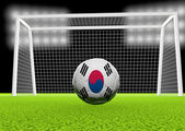 Soccer South Korea — Stock Photo