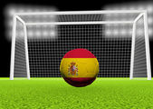 Soccer Spain — Stock Photo
