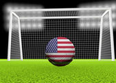 Soccer USA — Stock Photo