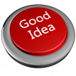 Stock Photo: Good idebutton