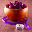 Pot pourri and candle — Stockfoto #46490659