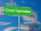 Great expectations — Stock Photo