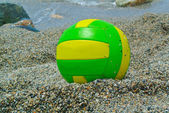 Beach volley ball — Stock Photo