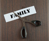 Cutting family — Stockfoto