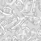 Seamless mathematical pattern — Stock Vector