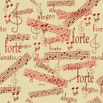 Seamless music pattern — Stock Vector #2377006