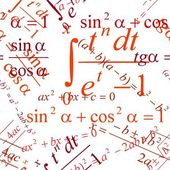 Sömlös matematiska mönster — Stockvektor
