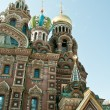 Church of our savior on the spilled blood — Stock Photo #11443566
