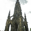 Stock Photo: Scott Monument Edinburgh