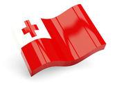 3d flag of tonga — Stock Photo