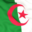 Flag of algeria — 图库照片