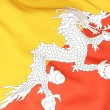 Flag of bhutan — Stock Photo #22743159