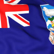 Flag of falkland islands — Stock Photo #22777142