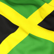Flag of jamaica — Stock Photo #22818682