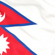 Flag of nepal — Stock Photo #22824176