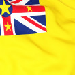 Flag of niue — Stock Photo #22824846
