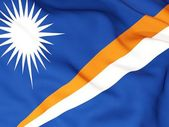 Flag of marshall islands — Stock Photo
