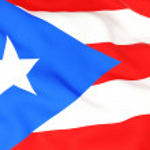 Flag of puerto rico — Stock Photo #22903382