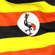 Flag of uganda — Stock Photo #22933304