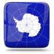 Square icon of antarctica — Stock Photo