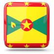 Stock Photo: Square icon of grenada