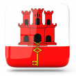 Stock Photo: Square icon of gibraltar