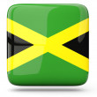 Stock Photo: Square icon of jamaica