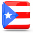 Stock Photo: Square icon of puerto rico