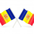Stock Photo: Flag of andorra