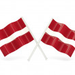 Stock Photo: Flag of latvia