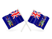 Flag of south georgia and the south sandwich islands — Stock Photo