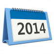 2014 calendar icon — Stock Photo