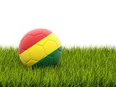 Football with flag of bolivia — Stock Photo