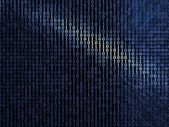 Blue digital metal background — Stock Photo