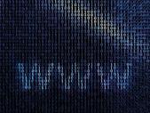 Blue digital background — Stock Photo